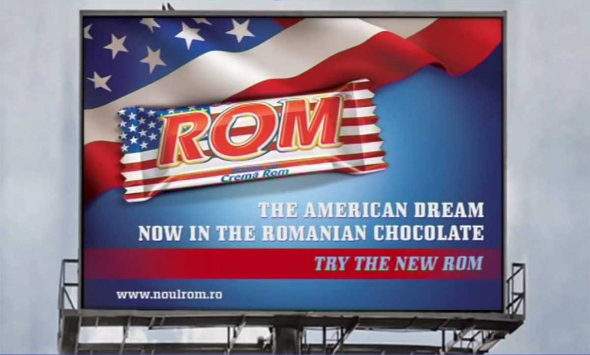 Marketing in Romania took an American twist