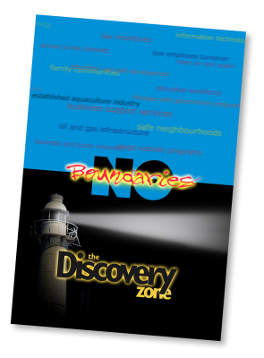 Graphic design in Newfoundland: Discovery Zone