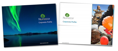 Graphic design in Labrador: Nunacor