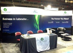 Nunacor 2015 display booth