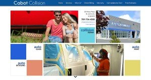 Website Design in St. Johns - Cabot Collision