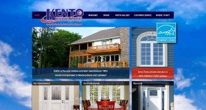 Website Design in St. Johns - Kento Windows & Doors