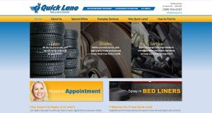 Website Design in St. Johns - Quick Lane