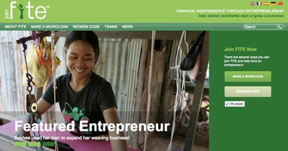 fite helps you help women entrepreneurs around the world.