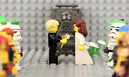 A marriage proposal by Lego may be much more strategic than proposing at a basketball game.