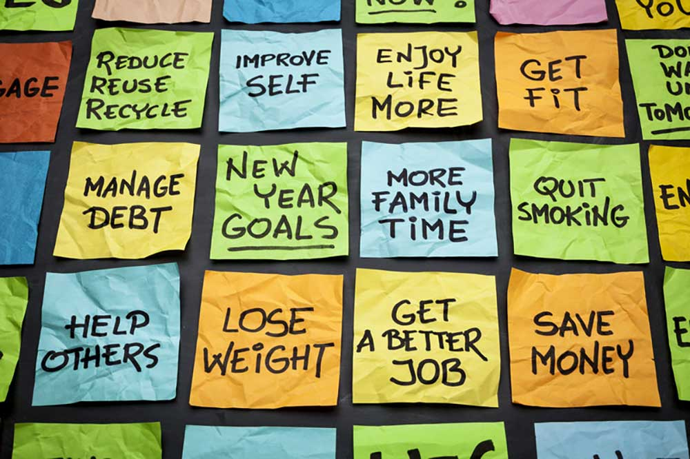 How to make New Years resolutions work.