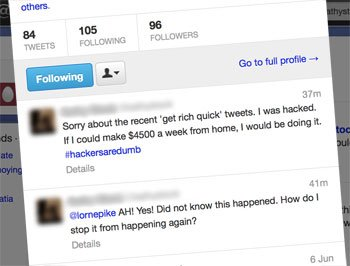 How to fix a hacked Twitter account