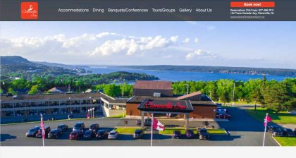 Website Designers in Newfoundland - Clarenville Inn