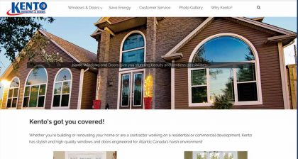 Website Designers in St. Johns - Kento Windows & Doors