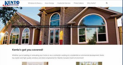 Website Designers in St. Johns - Kento Windows & Doors