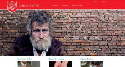 Website Designers in St. John's - Wiseman Centre